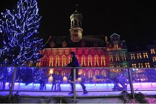 Marché de Noël « Mons Cœur en Neige 2010 »