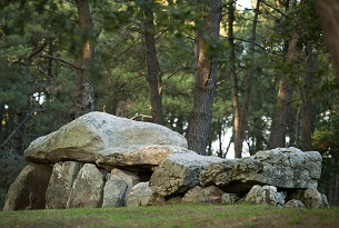 France, Morbihan, Carnac, Dolmens of Mane-Kerioned, labelled Historic Monument
