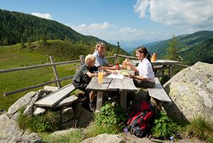 Carinzia-estate-FranzGERDL_ARGE-Natur_NationalparkNockberge_Jause