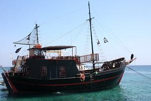 Cipro-protaras-spiaggia-nave-pirati