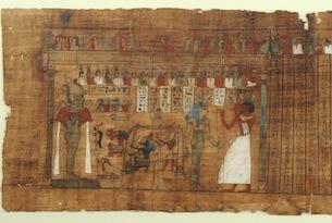 Cleopatra-Chiostro-del-Bramante-Libro-dei-Morti-di-Pa-iry-particolare
