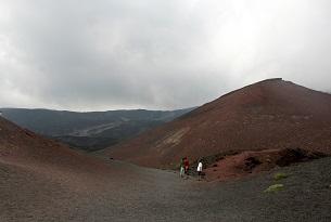 Il Vulcano Etna con i bambini, funivia