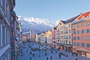 Innsbruck-centro-in-inverno