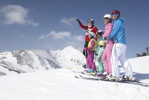 Katschberg, Winter, Familie, Skitag;