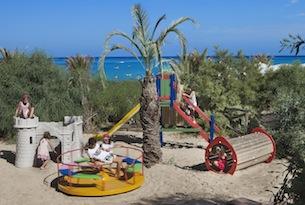 Resort in Sardegna per bambini, Le Dune, spiaggia