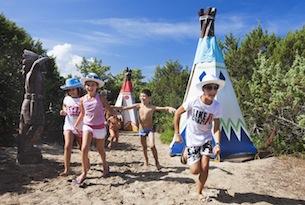 Resort in Sardegna per bambini, Le Dune, villaggio bambini