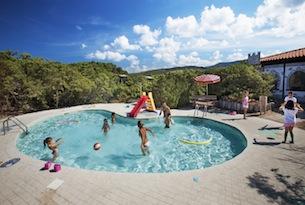Resort in Sardegna per bambini, Le Dune, piscina