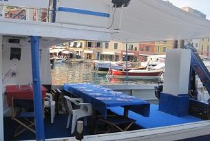 Liguria pescaturismo Castel Dragone