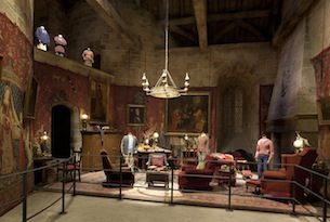 Sudios di Harry Potter a Londra: Gryffindor Common Room