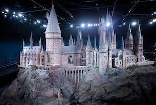 London-Warner-Bros-studios-Harry-Potter-Hogwarts-castle-model