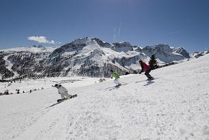 Moena-Val-di-Fassa-sci-ski-area-san-pellegrino