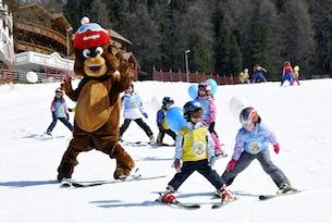 Obereggen-Orso-Bruno-scuola-sci