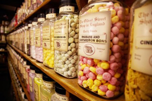 Oldest Sweet Shop - Jars