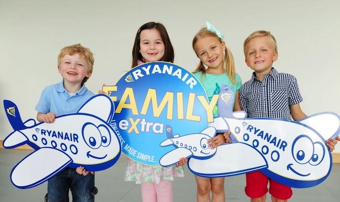 Ryanair-FamilyExtra-famiglie