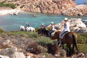 Sardegna, vacanze a Palau, equitazione