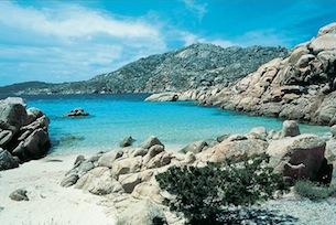 Sardegna, Gallura, le spiagge, Caprera