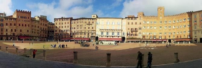 Siena panoramica