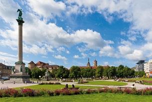 Stoccarda con bambini, SchlossPlatz
