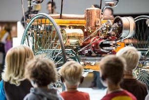 Stoccarda con bambini, Museo Mercedes