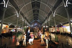 Valencia-a-Natale-Mercato-di-Natale-Mercado-de-Colón