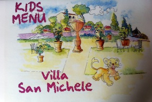 Villa-san-michele-kids-menu