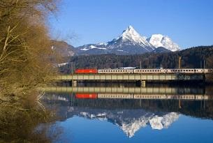EC 82 von Bolzen/Bolzano nach M¸nchen; Inntalbahn