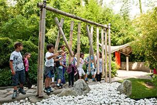 Giardini Merano per bambini, bosco di bambù