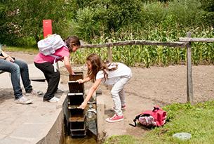 Giardini Merano per bambini, giochi per bambini