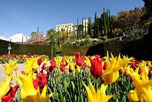 Giardini Merano per bambini, primavera