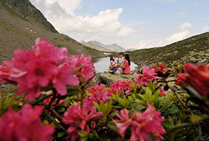 innsbruck-famiglia in montagna