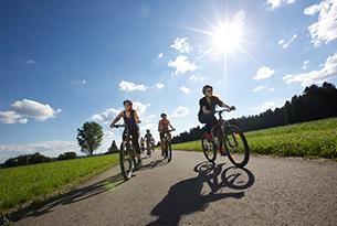 lossburg-itinerari-bambini-aktiv familienradtour im monat juni bild