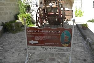 Ingresso Casa Museo della civiltà contadina