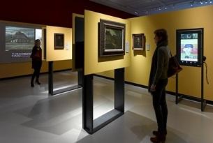 olanda Van Gogh Pavilion Nordbrabants museum