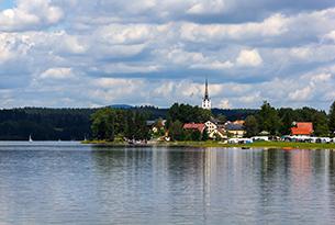 repubblica-ceca-natura-lipno-lago