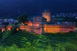 Castelli di Bellinzona UNESCO - Copyright by: Switzerland Tourism By-Line: swiss-image.ch / Roland Gerth