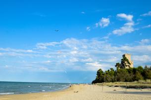 Vacanza Pineto camping, la torre Cerrano