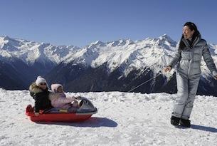 Passeggiate sulla neve in trentino-val-rendena-bob-Madonna di Campiglio