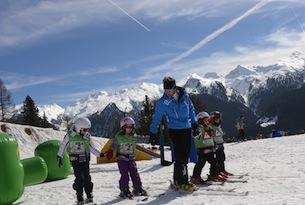 Val di Fiemme inverno, scuola sci