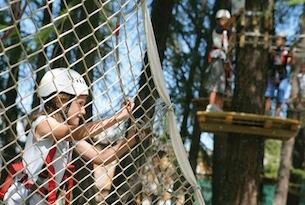 Vacanze a Pila in estate, Parco avventura